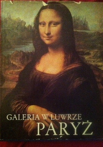 Okładka książki Galeria w Luwrze Paryż