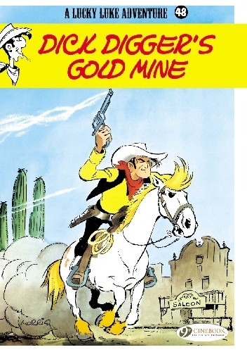 Okładka książki Lucky Luke - Kopalnia złota Dicka Digerra