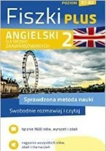 Okładka książki Angielski Fiszki PLUS dla średnio zawansowanych 2