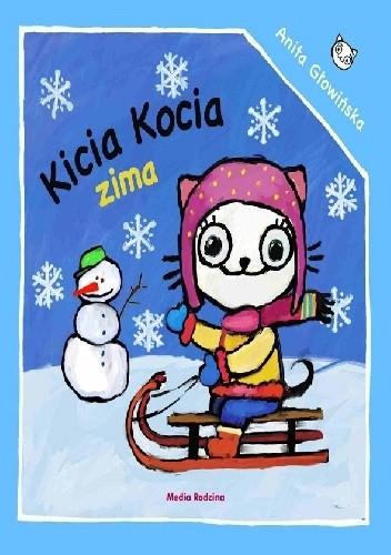 Okładka książki Kicia Kocia. Zima
