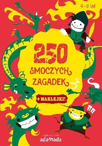 Okładka książki 250 smoczych zagadek