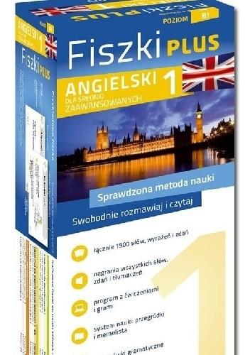 Okładka książki Angielski Fiszki PLUS dla średnio zaawansowanych 1
