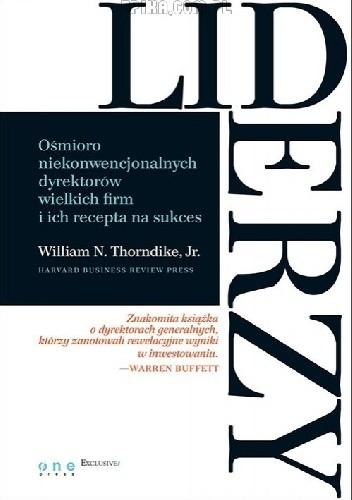 Okładka książki Liderzy