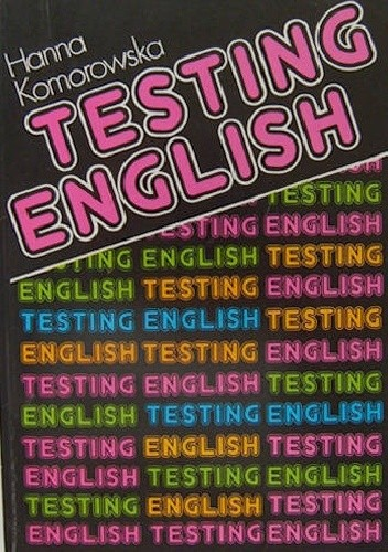 Okładka książki Testing English