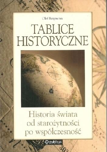Okładka książki Tablice historyczne. Historia świata od starożytności po współczesność