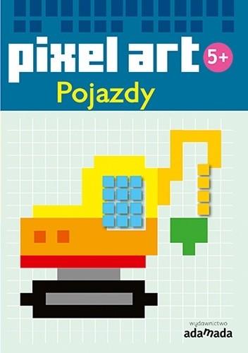 Okładka książki Pixel art. Pojazdy