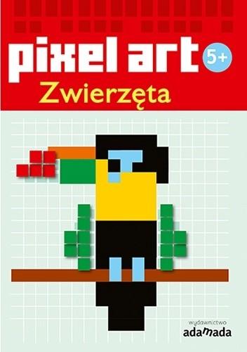 Okładka książki Pixel art. Zwierzęta