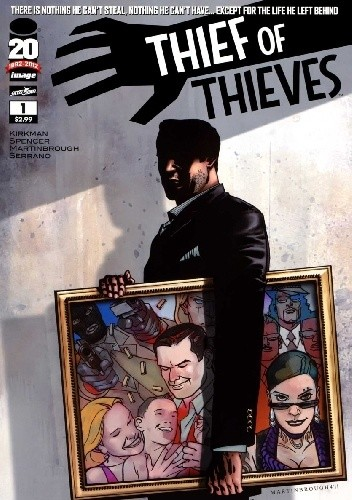 Okładka książki Thief of Thieves #1