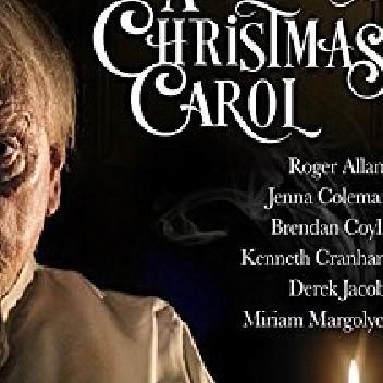 Okładka książki A Christmas Carol. A performance
