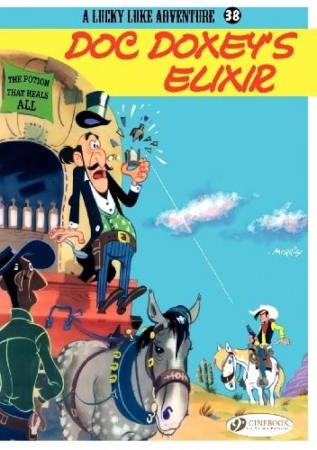 Okładka książki Lucky Luke - Doc Doxey's Elixir