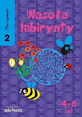 Okładka książki Plac Tajemnic 2. Wesołe labirynty 2. 4-6 lat