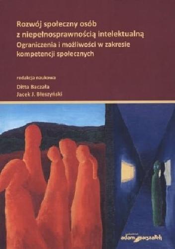 Okładka książki Rozwój społeczny osób z niepełnosprawnością intelektualną