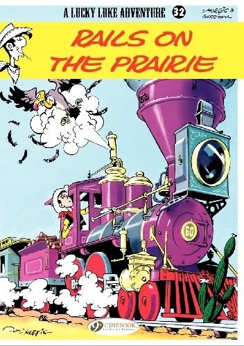 Okładka książki Lucky Luke - Rails on the Prairie