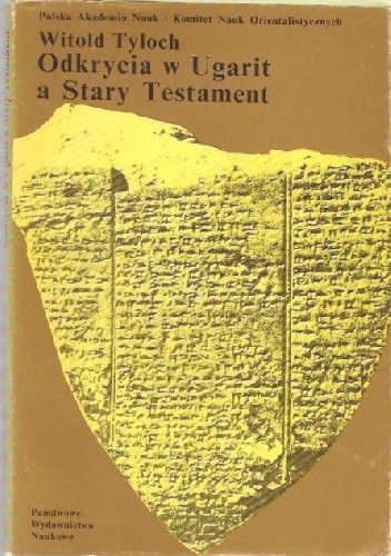 Okładka książki Odkrycia w Ugarit a Stary Testament