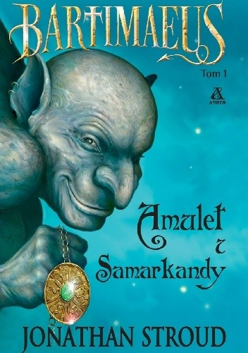 Okładka książki Amulet z Samarkandy
