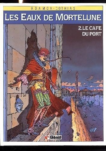 Okładka książki Wody Morteluny #2: Kawiarnia Portowa