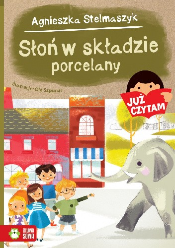Okładka książki Słoń w składzie porcelany