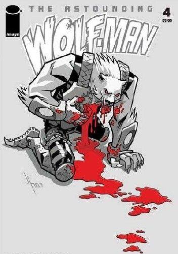 Okładka książki The Astounding Wolf-Man #4