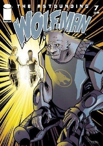 Okładka książki The Astounding Wolf-Man #7