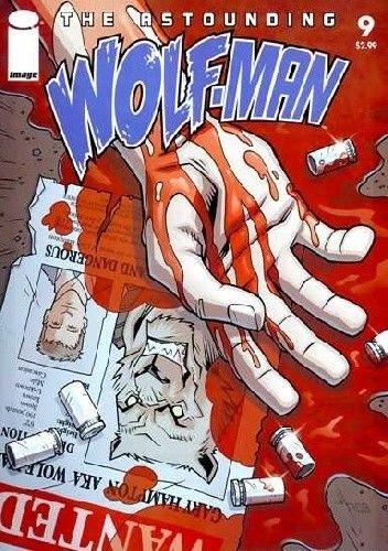 Okładka książki The Astounding Wolf-Man #9