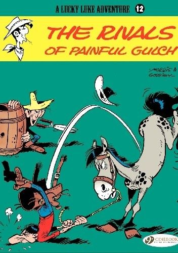Okładka książki Lucky Luke - The Rivals of Painful Gulch