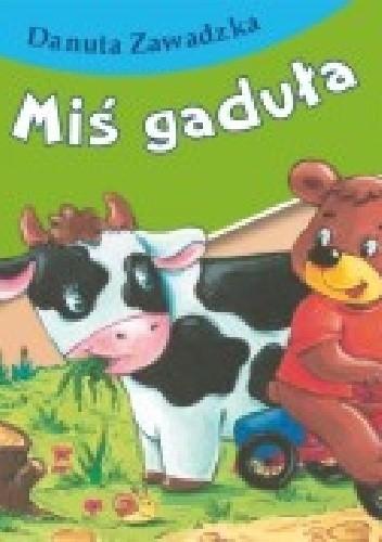 Okładka książki Miś gaduła