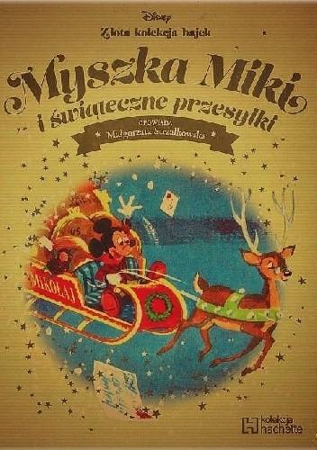 Okładka książki Myszka Miki i świąteczne przesyłki