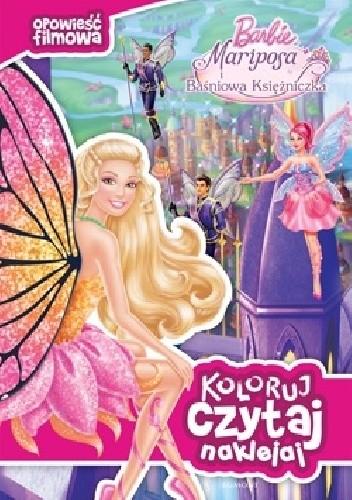 Okładka książki Barbie. Mariposa i Baśniowa Księżniczka