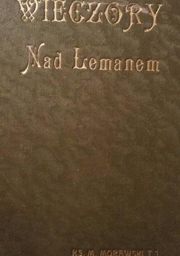 Okładka książki Wieczory nad Lemanem
