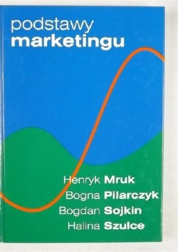 Okładka książki Podstawy marketingu