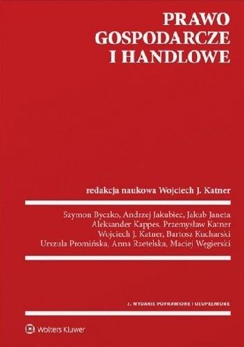 Okładka książki Prawo gospodarcze i handlowe