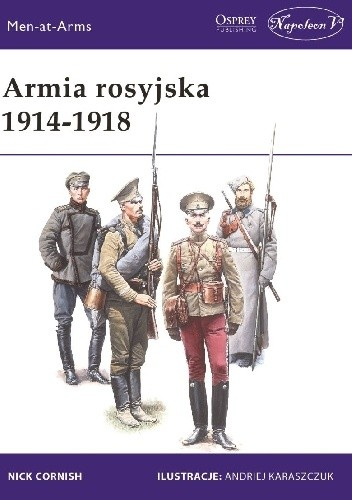 Okładka książki Armia rosyjska 1914-1918