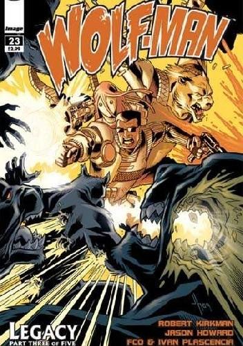 Okładka książki The Astounding Wolf-Man #23