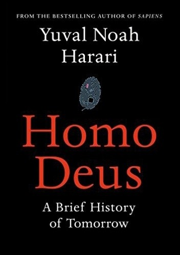 Okładka książki Homo Deus: A Brief History of Tomorrow