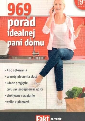 Okładka książki 969 porad idealnej pani domu