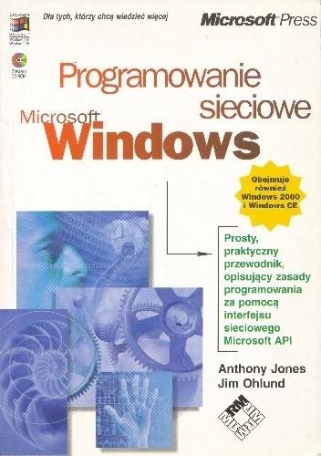 Okładka książki Programowanie sieciowe Microsoft Windows