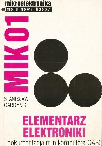 Okładka książki MIK01. Elementarz elektroniki