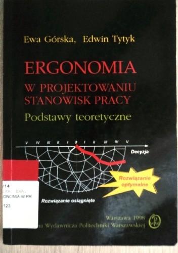Okładka książki Ergonomia w projektowaniu stanowisk pracy