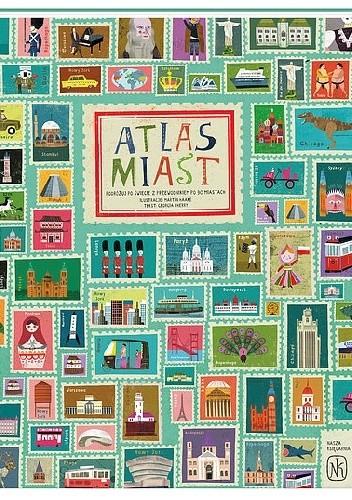 Okładka książki Atlas miast