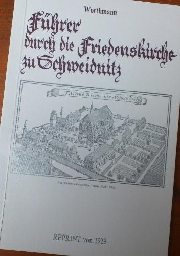 Okładka książki Führer durch die Friedenskirche zu Schweidnitz