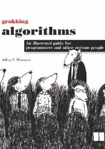 Okładka książki grokking algorithms