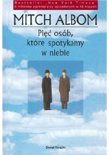 Okładka książki Pięć osób, które spotykamy w niebie