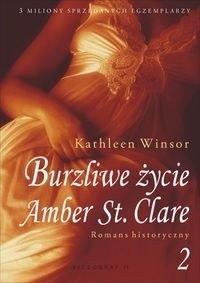 Okładka książki Burzliwe życie Amber St. Clare