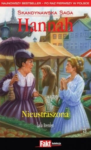 Okładka książki Nieustraszona