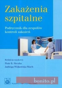 Okładka książki zakażenia szpitalne