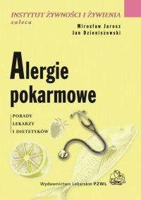 Okładka książki Alergie pokarmowe Porady lekarzy i dietetyków