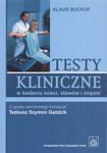 Okładka książki Testy kliniczne w badaniu kości, stawów i mięśni