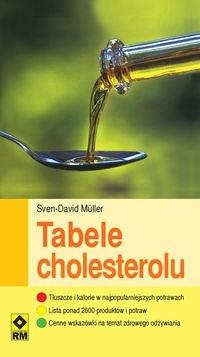 Okładka książki Tabele Cholesterolu