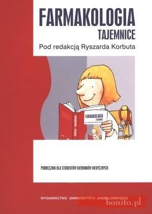 Okładka książki Farmakologia. Tajemnice