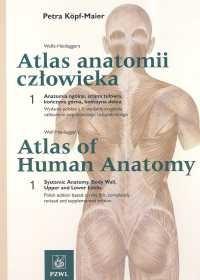 Okładka książki Atlas anatomii człowieka Tomy 1,2 Indeksy